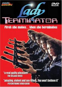 lady terminator dvd cover
