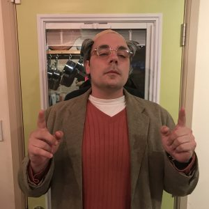 Paul as Larry David - Halloween 2016