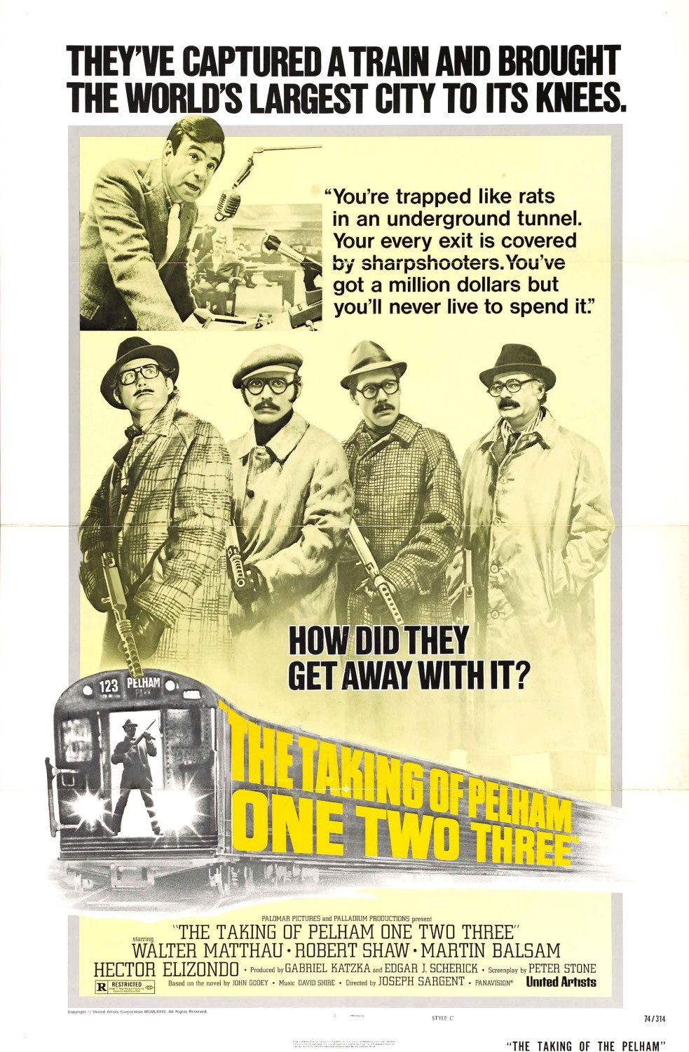 The Taking of Pelham One Two Three - 1974